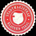 Siegelmarke Stadtmagistrat Klausen-Tirol W0318978.jpg