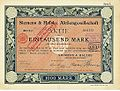 Siemens & Halske. Aktie 1897.jpg