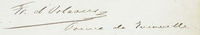 Signature of Prince François, Prince of Joinville.png