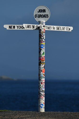 John o' Groats - The free signpost