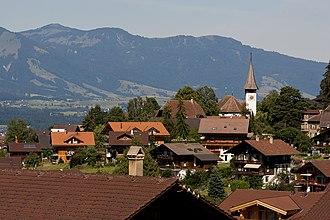 Sigriswil - Sigriswil village
