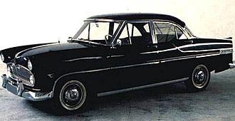 Simca Vedette - Image: Simca vedette 1956