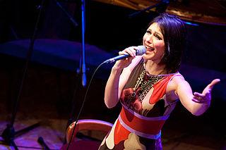 Simona Molinari Italian singer and songwriter