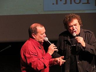 Ran Eliran - Ran Eliran (left) with Gabi Berlin