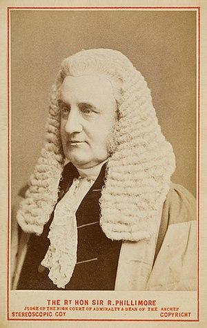 Guibord case - Sir Robert Phillimore