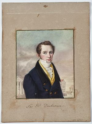 Edward Cromwell Disbrowe - Image: Sir Edward Disbrowe by Brian Searby (Middleton Album)
