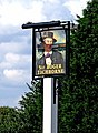 Sir Roger Tichborne pub sign, Alfold Bars - geograph.org.uk - 1434669.jpg