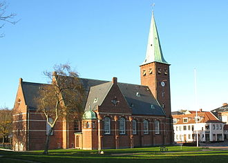 Skive, Denmark - Skive church