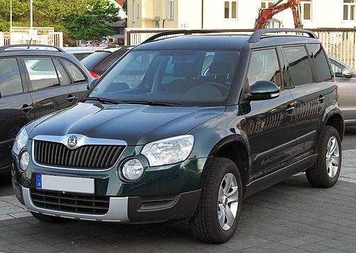 Skoda Yeti 2.0 TDI 4x4 front 20100524