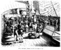 Skruefregatten Sjælland krydser linjen - 1860.png