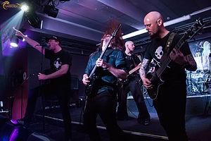 Skyfire (band) - Image: Skyfire Russia 2