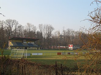 FC TVD Slavičín - Stadium of FC TVD Slavičín.