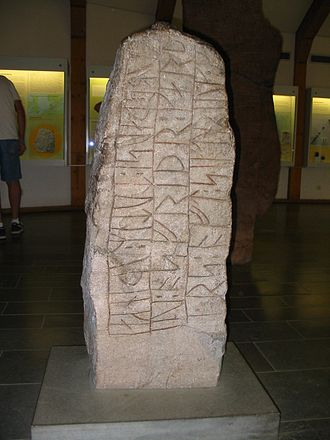 Sigtrygg Gnupasson - The runestone DR 4 raised after Sigtrygg by his mother.