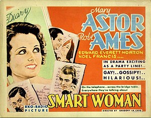 Smart Woman (1931 film) - Theatrical poster for the film