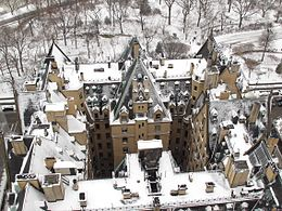 The Dakota In Snow