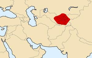 Sogdian Rock - Image: Sogdiana 300BCE