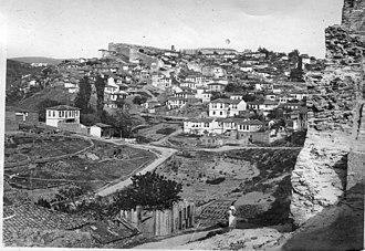 Upper Town (Thessaloniki) - Old photo