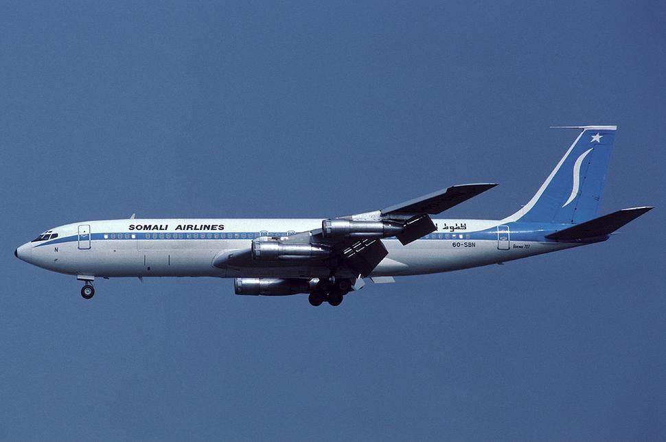 Somali Airlines 6O-SBN FRA 1984-8-16