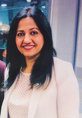 Sonia Sidhu - Image: Sonia Sidhu Member of Parliament for Brampton South, Canada
