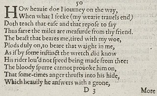 Sonnet 50 poem by William Shakespeare