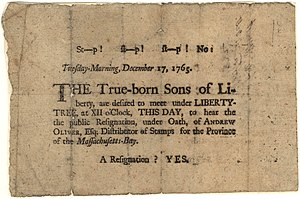 Sons of Liberty Broadside, 1765.jpg