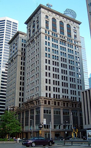 Soo Line Building - Northwest view of the Soo Line Building (501 Marquette), 2005