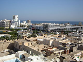 Sousse City in Sousse Governorate, Tunisia