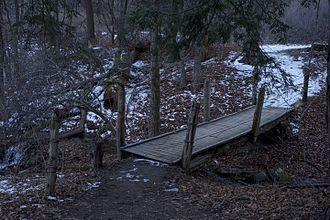 Southbury, Connecticut - Audubon Center Bent of the River trail