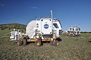 Space Exploration Vehicle in field (2010)