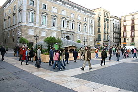 Image illustrative de l'article Place Sant Jaume