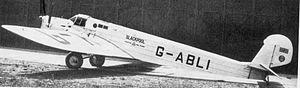 Lympne Airport - Spartan A-24 Mailplane G-ABLI