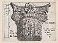 Speculum Romanae Magnificentiae- Corinthian capital MET DP870156.jpg