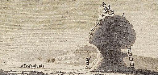 Sphinx de Gizeh par Dominique Vivant Denon