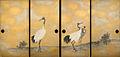 Sporting Cranes by Okyo (Kotohiragu).jpg