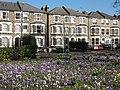 Spring flowers in Batley Park - geograph.org.uk - 1197198.jpg