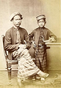 Sri Lankan Malay Father and Son.jpg