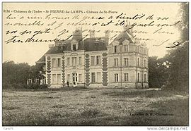 An old postcard view of the château