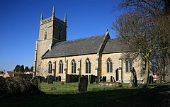 St.Andrew's church, Potterhanworth, Lincs - geograph.org.uk - 1741448.jpg