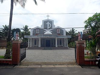 Kadavanthra - St.Sebastian's Latin Catholic Church