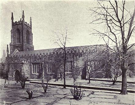 St John's church in c.1919 St. John's church, Leeds, circa 1919.jpg