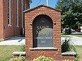 St. Mary Church sign - Davenport, Iowa.JPG