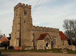 St. Nicholas' church, Tolleshunt D'Arcy, Essex - geograph.org.uk - 136714.jpg