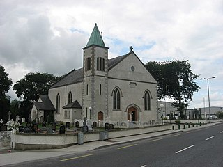 Shercock Town in Ulster, Ireland