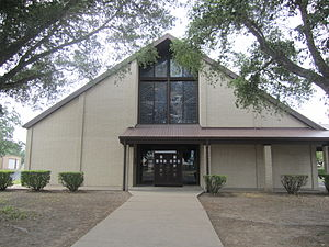 Thorndale, Texas - St. Paul Lutheran Church in Thorndale, established in 1891, has a school and a cemetery to the rear of the sanctuary. Its services were originally in German. The current pastor is James K. Mann (2011).