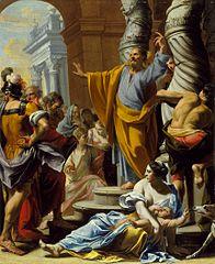 St. Peter Preaching in Jerusalem
