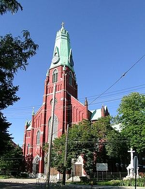 Henry Engelbert - St. Albertus Roman Catholic Church, Detroit (1885)