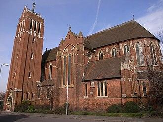 Highgate, Birmingham - Church of St Alban and St Patrick