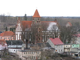 St Anna Church Radzyń Chelminski view from castle.jpg