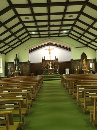 St George's Church (Ottawa) - St George's Church Ottawa, with new position of Tabernacle and Crucifix