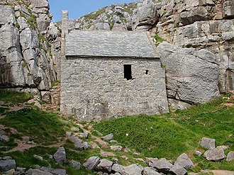 Pembrokeshire Coast National Park - St. Govan's Chapel